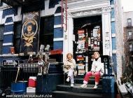 Murales of bikers in bronx | The gang's headquarter | New York Murales