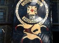 Bikers symbol in bronx | The gang's symbol | New York Murales