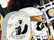 Detail of the murales