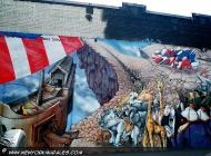 A murales about Noah's ark | Noah's ark | New York Murales