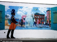 A retro style murales | Retro | New York Murales