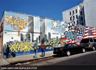 A wall in the memory of 9/11 | Wall | New York Murales