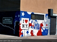 I love New York more than ever.In memory of 11/9 | In memory of 11/9 | New York Murales