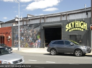 Here a school where to learn to make murales. Here, the artists at work | Studio of SKYHIGH MURALS | New York Murales