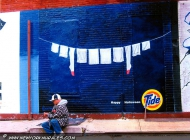 Happy Halloween from the Tide's scour | Tide | New York Murales