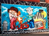 A comix style murales in Lower East Side | Comix style | New York Murales