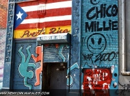 Murales in Lower East Side in memory of Keith Haring | In memory of Keith Haring | New York Murales