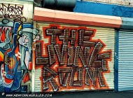 The living Room. Village Voice | Village Voice | New York Murales