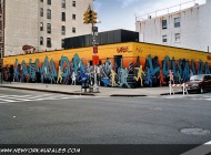 A murales around Loisaida Sports' shop   Loisaida   New York Murales
