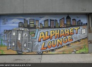 An Alphabet Longue subway train | Alphabet Longue | New York Murales