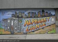 An Alphabet Longue subway train   Alphabet Longue   New York Murales