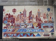 A murales with the written We love NY | We love NY | New York Murales