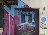 A painted door | A painted door | New York Murales