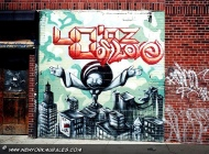 40' oz of love murales in Lower East Side | 40 oz of love | New York Murales