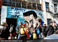 Murales in Lower East Side in memory of Tony   In memory of Tony   New York Murales