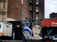 Lady Diana and Madre Teresa of Calcutta | Lady Diana and Madre Teresa | New York Murales