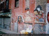 Murales in Harlem  in memory of hispanical legends | Hispanical Legends | New York Murales