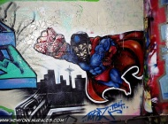 Superman | Long Island | 5 Pointz | New York Murales