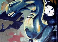 A blue dragon | Long Island | 5 Pointz | New York Murales