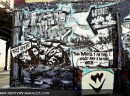 The killed guy was on the wrong part of the street | Long Island | 5 Pointz | New York Murales