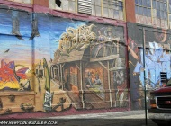 A western scene | Long Island | 5 Pointz | New York Murales