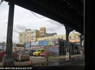 5 Pointz taken from under the subway rails | Long Island | 5 Pointz | New York Murales