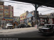 5 Pointz taken from under the subway rail | Long Island | 5 Pointz | New York Murales