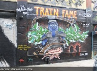 Train Fame | Long Island | 5 Pointz | New York Murales