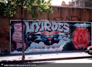 Looking for Lourdes? She's dead | Lourdes | New York Murales