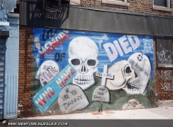 In memory to all who have died | In memory of... | New York Murales