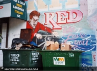 In memory of Red | Red | New York Murales