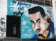 In memory of Tony | Tony | New York Murales