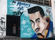 In memory of Tony | Tony | New York Murales