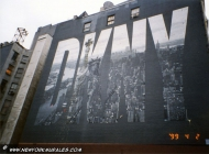 Advertising murales in Soho DKNY | DKNY | New York Murales