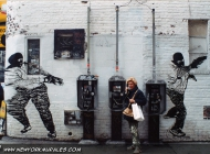 Murales in Soho made by WK | A WK's murales | New York Murales