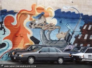 Murales in Soho | Trumpeter | New York Murales