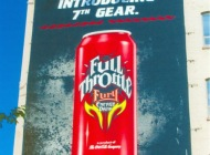Advertising about Full Throttle | Advertising | New York Murales