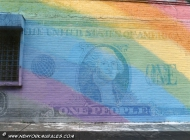 Murales in greenwich village west side new york city gay dollar | Dollar | New York Murales