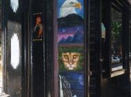 Murales in greenwich village west side new york city gay   Door   New York Murales