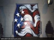 Murales in greenwich village west side new york city   Door   New York Murales