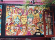 Murales in greenwich village west side new york city | Restaurant | New York Murales